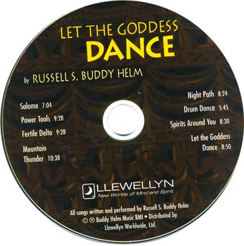 Let The Goddess Dance CD by Russell Buddy Helm