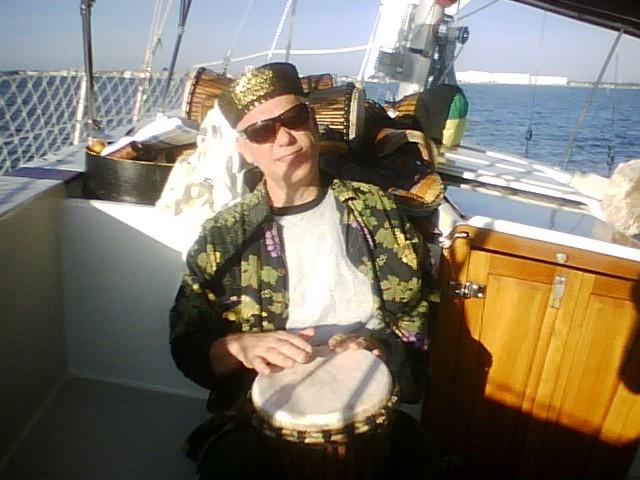 sailboat drumming