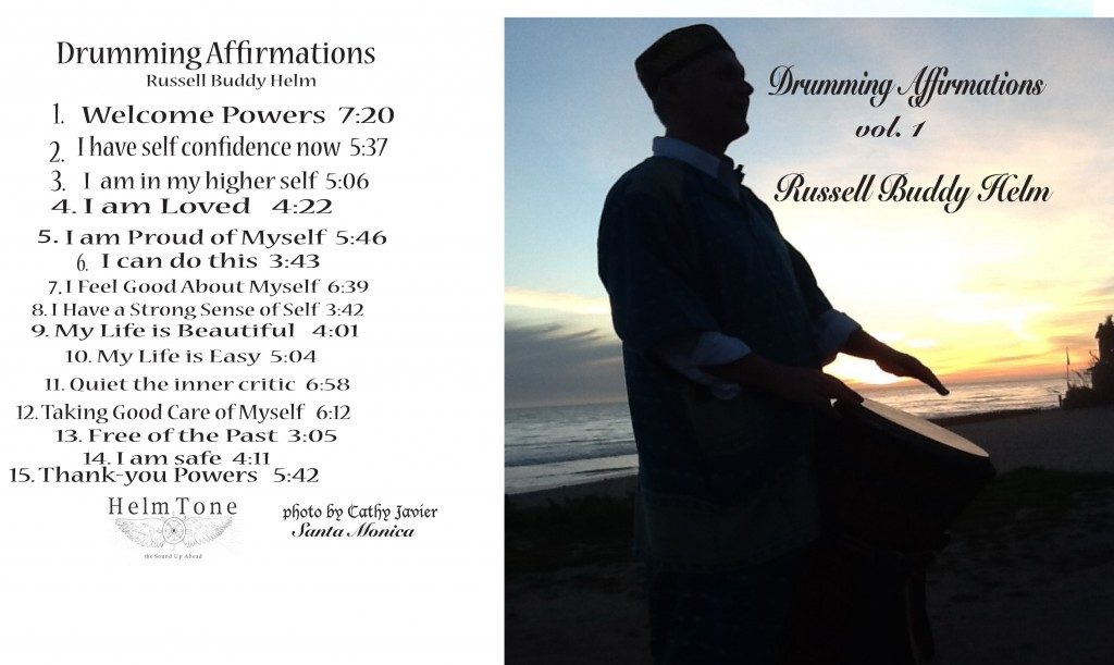 drumming affirmations booklet