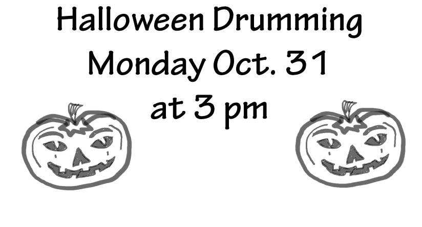 halloween-drumming